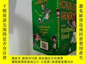 二手書博民逛書店Horrid罕見Henry and the Football Friend:可怕的亨利和那個足球朋友.Y200
