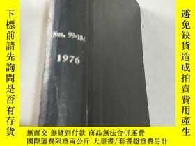 二手書博民逛書店NITROGEN罕見Nos 99-104 1976 氮.Y212