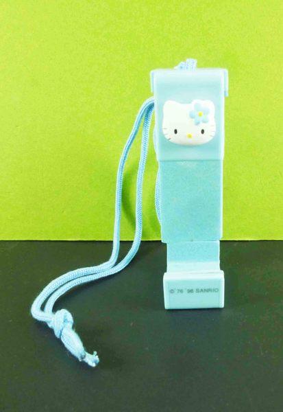 【震撼精品百貨】Hello Kitty 凱蒂貓~伸縮相機帶-藍