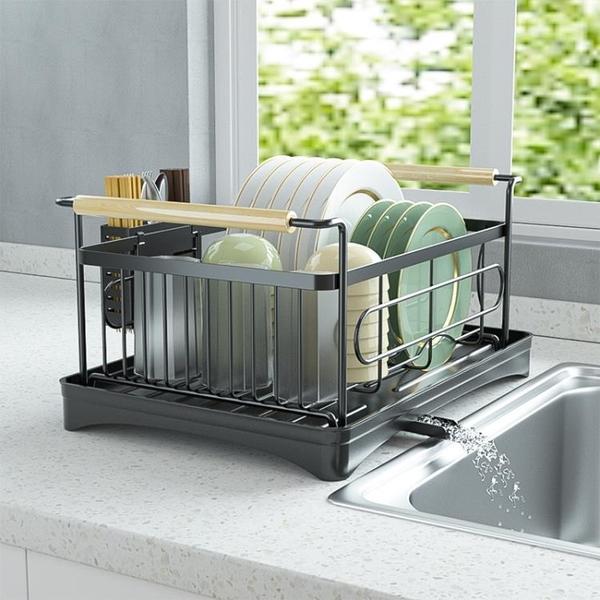 碗盤架 控碗架置物架碗架洗碗池瀝水架水池放碗碟廚房用品餐具碗筷收納架全館促銷