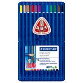 施德樓 MS156 Ergosoft全美水性色鉛筆-標準型12色組