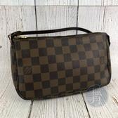 BRAND楓月 LOUIS VUITTON LV N51983 經典 棋盤格 手提小包 肩背包 腋下包 小包