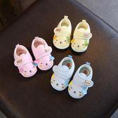 學步鞋子1歲軟底新生男女寶寶嬰兒鞋襪8春秋冬季0-6-12個月93不掉  雙12八七折
