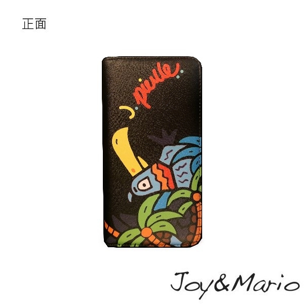 【Joy&Mario】J.Pierce普普風塗鴉款長夾 - B0080T YELLOW