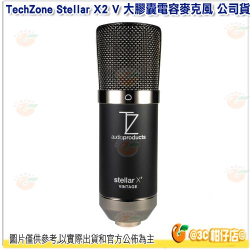 @3C 柑仔店@ TechZone Stellar X2 V 大膠囊電容麥克風 公司貨 直播 心型 弦樂器 人聲