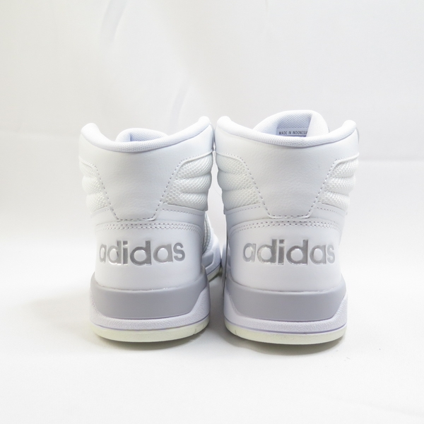 ADIDAS ENTRAP MID 女款 休閒鞋 中筒 FW3479 白銀【iSport愛運動】