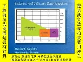 二手書博民逛書店Electrochemical罕見Power Sources: Batteries, Fuel Cells, an