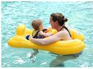 [韓風童品] 韓國Avalon親子游泳圈 方向盤汽艇 兒童戲水游泳圈  環保PVC 雙人泳圈 帶遮陽棚