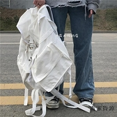 超大容量後背包戶外多功能雙肩包男女工裝風運動背包【毒家貨源】
