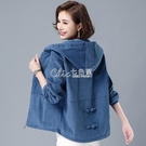 外套二八月女春秋新款秋季燈芯絨上衣韓版寬鬆女士短款夾克