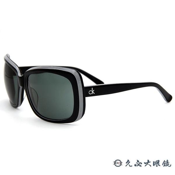 Calvin Klein 太陽眼鏡 大框 CK墨鏡 CK4087S 070 黑 眼鏡推薦 久必大眼鏡