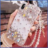 三星 A71 A51 Note10+ S10+ A80 A50 A30S A70 A9 A7 2018 J6+ A20 S9+ 點綴金寶石 手機殼 水鑽殼 訂製