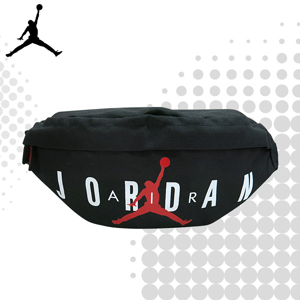 JORDAN 喬丹 腰包 休閒側背包 運動腰包 小飛人 斜跨包 9A0533 得意時袋