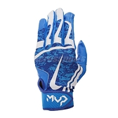 Nike 打擊手套 Hyper Diamond Edge Gloves 運動手套 藍 白 魔鬼氈 棒球手套【ACS】 NBG12-400