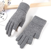 特賣促銷 冬天手套露指男士女冬季保暖加絨加厚騎行開車漏二指半指無指半截