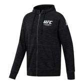 REEBOK UFC FAN GEAR FIGHT WEEK 男裝 外套 立領 休閒 基本款 舒適 黑【運動世界】EC1248
