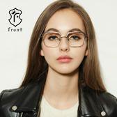 【Front 光學眼鏡】GM3106-四色可挑選#簡約方框光學眼鏡