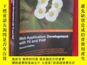 二手書博民逛書店Web罕見Application Development wit