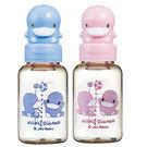 【奇買親子購物網】酷咕鴨KU.KU.造型PES防脹氣標準奶瓶120ML(藍色/粉色)