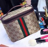 抖音同款化妝包大容量多功能便攜大號韓版化妝品袋收納包少女心包「輕時光」