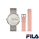 【FILA 斐樂】/手錶套組(男錶 女錶 Watch)/38-178-001-SetB/台灣總代理原廠公司貨兩年保固