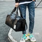 短途旅行包男女出差手提袋大容量旅遊包行李包防水運動健身包男潮 Korea時尚記