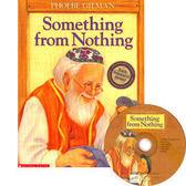 【麥克書店】SOMETHING FROM NOTHING /英文繪本附CD《環境保護. 感恩.知足》
