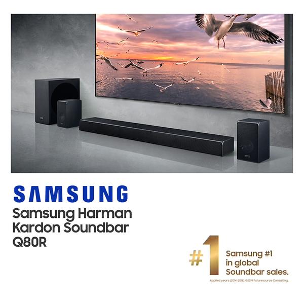 SAMSUNG三星/HW-Q80R/ZW /5.1.2聲道 Soundbar聲霸 /杜比環繞音響/貿易商公司貨