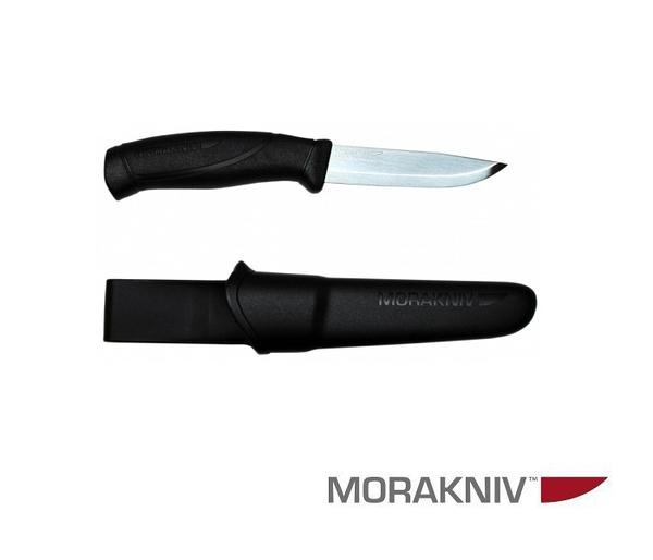丹大戶外用品【MORAKNIV】瑞典 COMPANION 不鏽鋼直刀 黑 12141 / 12092