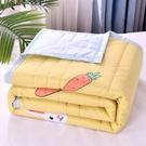 夏季空調被夏涼被子薄夏天兒童雙人水洗棉可機洗單人薄款春秋被芯 NMS蘿莉新品