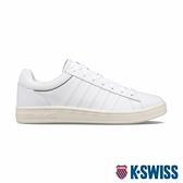 K-SWISS Court Winston時尚運動鞋-男-白/橄欖綠