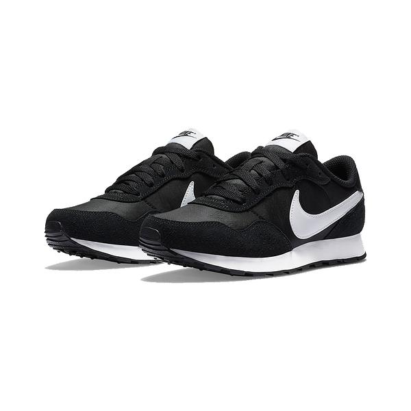 Nike MD Valiant GS 運動 女鞋 基本款 黑白CN8558002