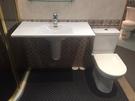 【麗室衛浴】超值組合樣品價 瑞士 LAUFEN 馬桶+臉盆+半柱+HANSA龍頭