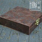 精美高檔佛珠盒手鍊佛珠銀飾珠寶禮品包裝盒玉器木質首飾盒子開學季,88折下殺