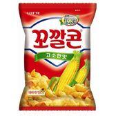 Lotte 金牛角玉米點心 原味 72g
