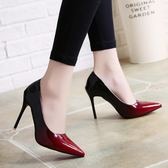 韓版時尚高跟鞋細跟鞋性感夜店風職業學生氣質女鞋