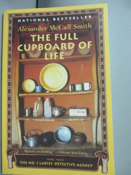 【書寶二手書T6/原文小說_HBS】The Full Cupboard of Life_McCall Smith, Al