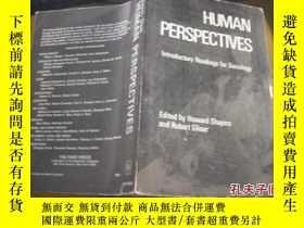 二手書博民逛書店HUMAN罕見PERSPECTIVES:Introductory