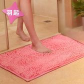 雪尼爾衛浴吸水地墊地毯浴室衛生間門廳進門口腳踏防滑墊腳墊門墊