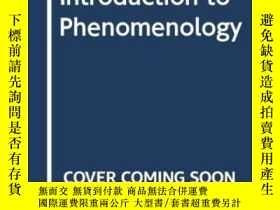 二手書博民逛書店Introduction罕見To PhenomenologyY256260 Dermot Moran Rout