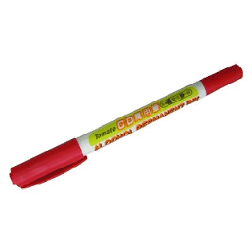 【Tomato】CD15 紅色 雙頭萬用筆