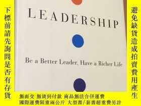 二手書博民逛書店Total罕見Leadership:Be a Better Le