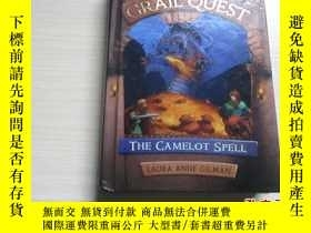 二手書博民逛書店GRAIL罕見QUEST:THE CAMELOT SPELL【精裝版、282】Y10970 LAURA ANN