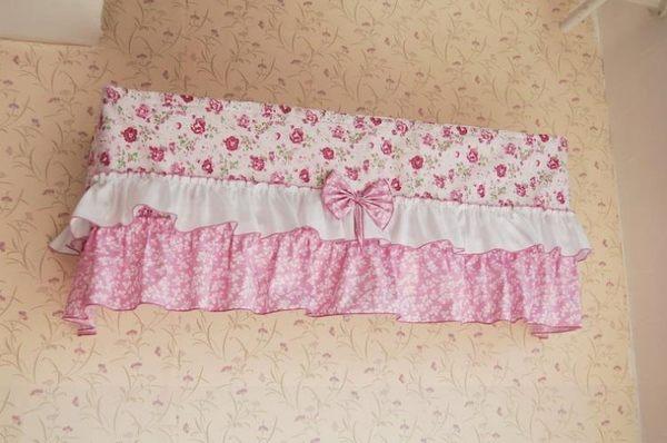 [超豐國際]棉 棉布掛式空調罩 空調套 掛式空調蓋巾 防塵罩