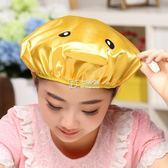 兒童水浴帽寶寶洗澡帽小孩吸水加厚卡通乾發帽毛巾兒童浴帽   卡菲婭