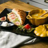 朵頤創意陶瓷大號早餐盤托盤魚盤點心盤面包板西餐餐盤水果盤菜盤【onecity】