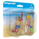 摩比積木 playmobil 人偶 海灘遊客
