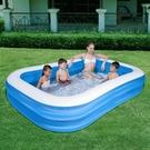 Bestway 54006二環矩形水池 大型家庭充氣游 快速出貨
