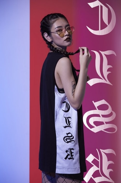【現貨】CLASSICK CLSK 17SS YINYANG VEST 刺繡 歌德 長版 背心 CLSK1702