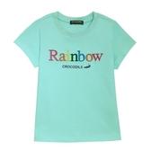 『小鱷魚童裝』彩色Rainbow立體繡字T恤(08號~20號)557462